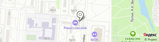 Идеал-Системс на карте Омска