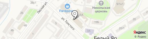 МегаФон на карте Белого Яра