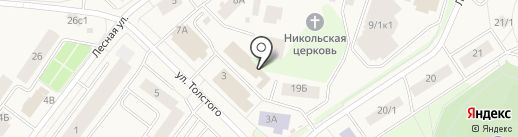 Магазин одежды на карте Белого Яра