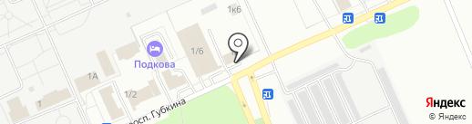 Авто Кар на карте Омска