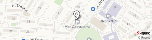 УПЖС-1 на карте Белого Яра
