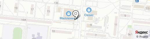 Магазин хозяйственных товаров на карте Омска