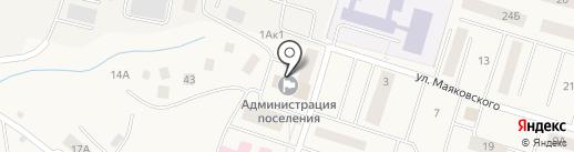 Администрация городского поселения Белый Яр на карте Белого Яра