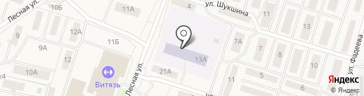 Соловушка на карте Белого Яра