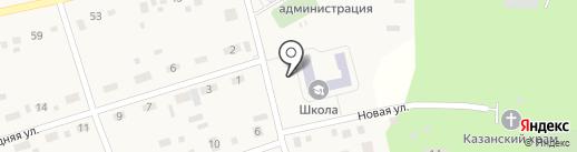 Надеждинская средняя общеобразовательная школа на карте Надеждино