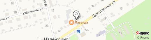 Продуктовый магазин на карте Надеждино