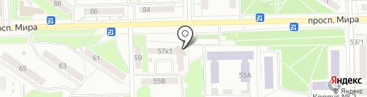 ИСКОЖОМСК на карте Омска