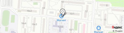 Магазин текстиля на карте Омска