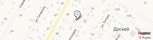 Доскейская врачебная амбулатория на карте Доскея