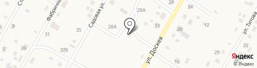 Сельское отделение почтовой связи на карте Доскея