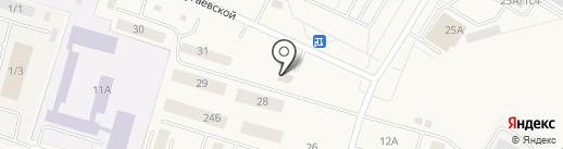 Магазин низких цен на карте Белого Яра