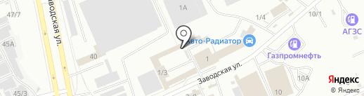 Центр кузовного ремонта на карте Омска