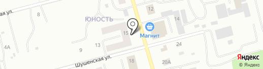 Участковый пункт полиции №14, Отделение полиции №1 на карте Сургута