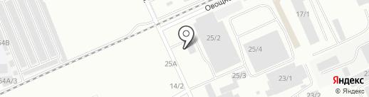 БСК СпецАвто на карте Омска
