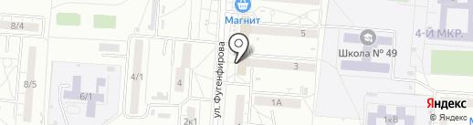 Салон мобильных телефонов и аксессуаров на карте Омска