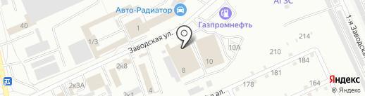 Авантаж на карте Омска