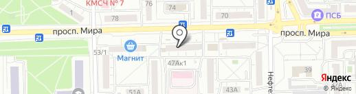 Царь Хлеб на карте Омска