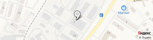 Центральная трубная база на карте Белого Яра