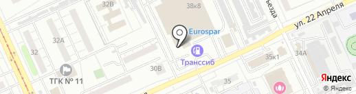 Сеть магазинов омского трикотажа на карте Омска