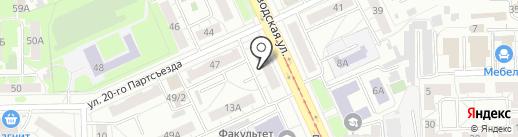 Наш Крепеж на карте Омска