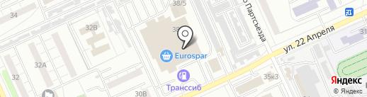 ZEBRA на карте Омска