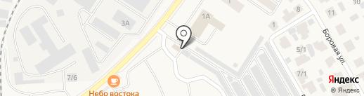 Альфа-Я на карте Белого Яра