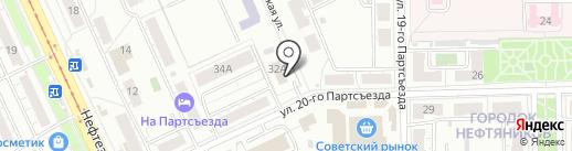 Cats на карте Омска