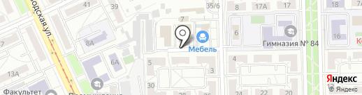 Алиса на карте Омска