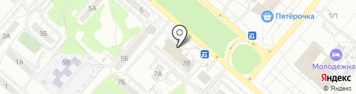 Магазин аксессуаров для мобильных телефонов на карте Омска