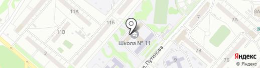 Скорпион-Каратэ на карте Омска