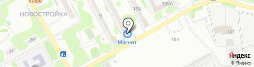 Магазин цветов и сувениров на карте Омска