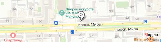 Омич и К на карте Омска