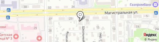 Эвакуация 55 на карте Омска