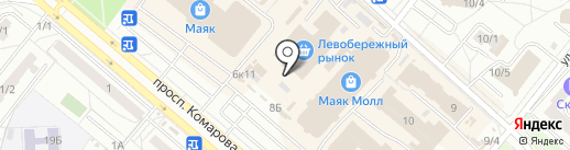 Здоровое питание на карте Омска