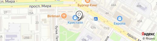 ФЛЕКС ДЖИМ на карте Омска