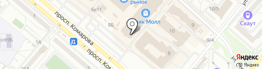 Клик 55 на карте Омска