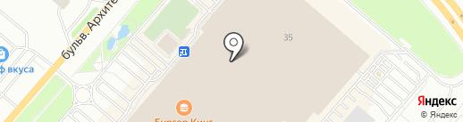 Orby на карте Омска