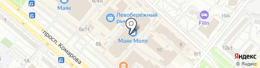 Парфюмер на карте Омска