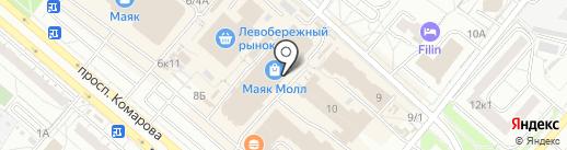 Магия света на карте Омска