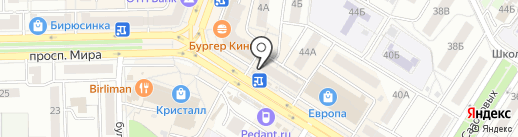 Банкомат, Эксперт банк на карте Омска