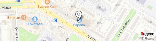 Лавка Пряностей на карте Омска