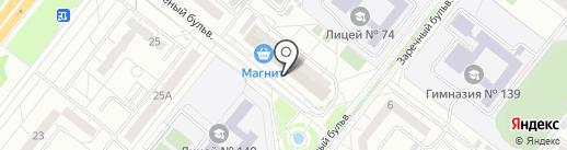 Логика на карте Омска