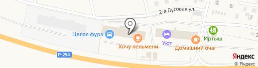 Целая фура на карте Троицкого