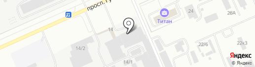 Полином на карте Омска