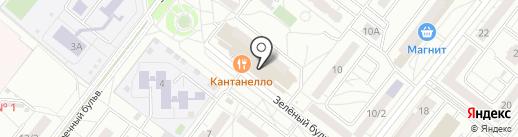 Салон цветов на карте Омска