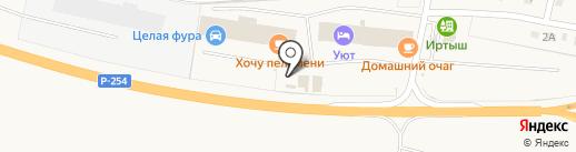 Fe-рум на карте Троицкого