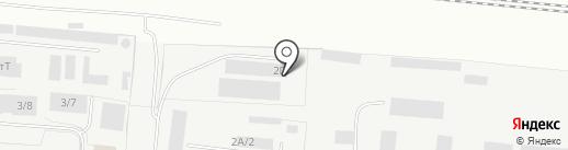 Бастион на карте Омска
