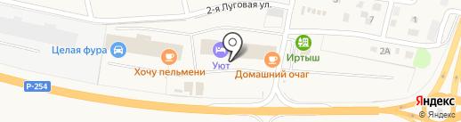 Евротехцентр на карте Троицкого
