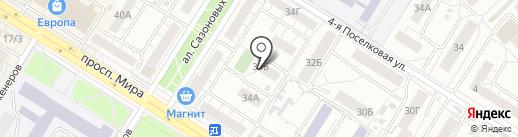 Патриот на карте Омска