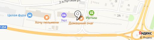 Ника на карте Троицкого